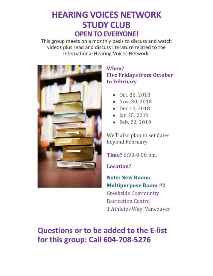 HVN Study Club Flyer 11