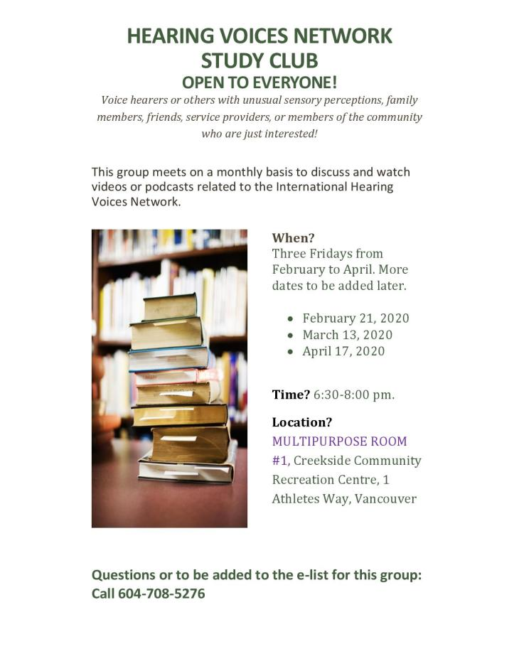 HVN Study Club Flyer 15